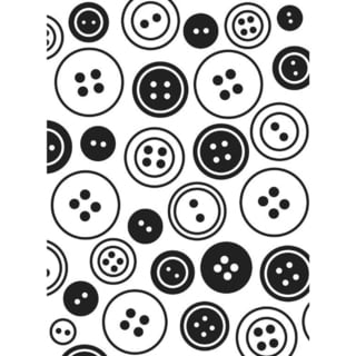 Embossing Folder 4.25inX5.75inButtons Background