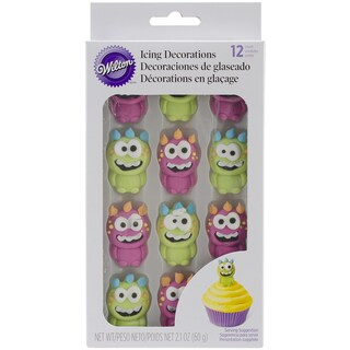 Royal Icing DecorationsMonster