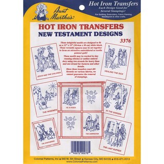 Aunt Martha'a IronOn Transfer CollectionNew Testament
