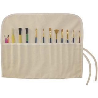 Canvas Artist Brush Holder 18inX14inNatural
