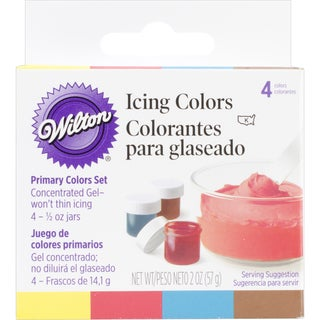 Icing Colors .5oz 4/PkgPrimary