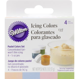 Icing Colors .5oz 4/PkgPastel