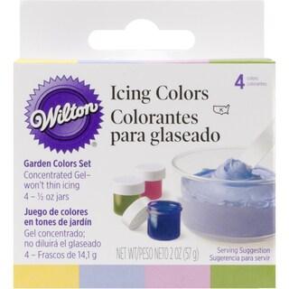 Icing Colors .5oz 4/PkgGarden Tone