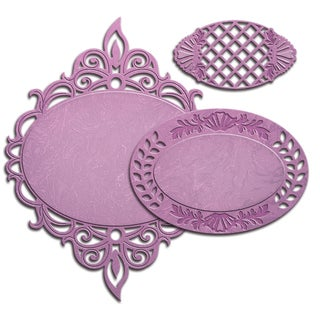 Spellbinders Nestabilities Decorative Elements DiesMajestic Oval