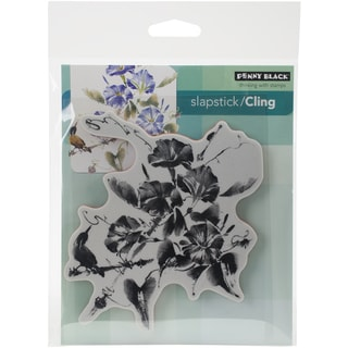 Penny Black Cling Rubber Stamp 5inX6.5in SheetTrumpet Song