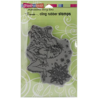 Stampendous Christmas Cling Rubber Stamp 7.75inX4.5in SheetSnow Queen