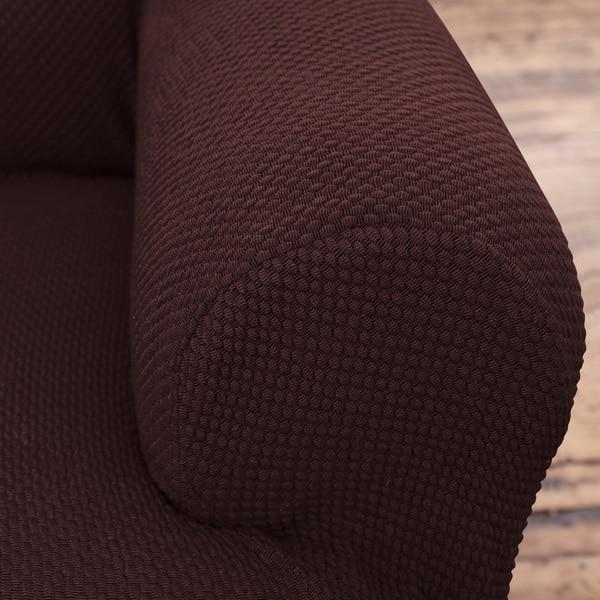 Chocolate Brown Savannah Arm Chair Slip Cover
