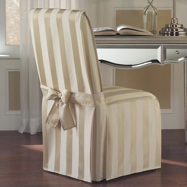 Dining Room Chair Back Covers: Shop Luxury Collection Madison Dining Chair Cover