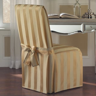 Luxury Collection Madison Dining Chair Cover (Option: Gold)
