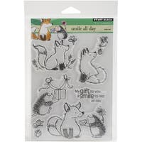 Penny Black Clear Stamps 5inX6.5in SheetSmile All Day