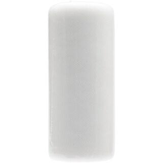 Tulle Fine Mesh 6inX25yd SpoolSilk White