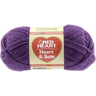 Red Heart Heart & Sole YarnPurple