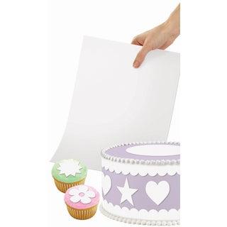 Sugar Sheet 8inX11in 1/PkginWhite