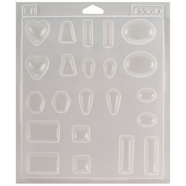 Castin'Craft Jewelry Plastic Mold 7.25inX8.25inX.5inJewels  11 Cavity