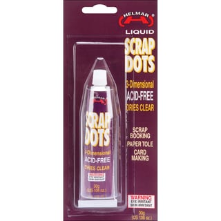 Scrap Dots 3D Liquid Adhesive1.06oz