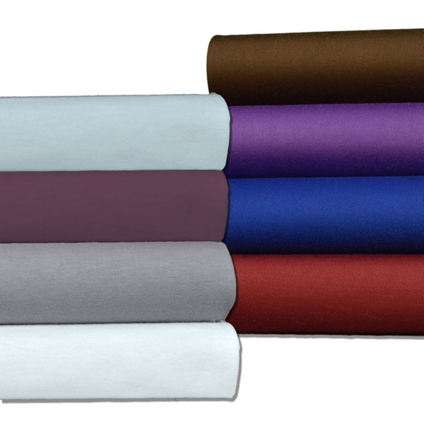 Brielle Easy Care Microfiber Jersey Knit (T-shirt) Sheet Set