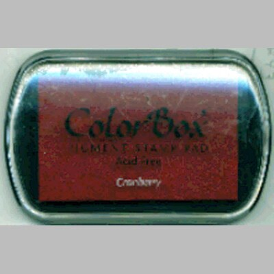 ColorBox Pigment Ink PadCranberry