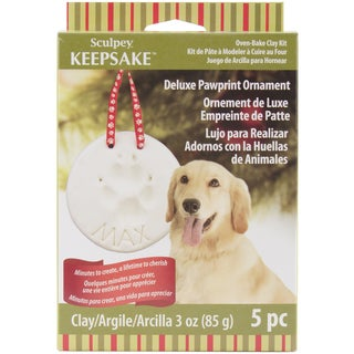Sculpey Keepsake KitPawprint Ornament