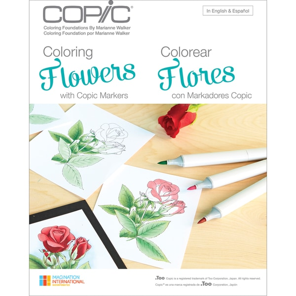 Copic BooksColoring Flowers