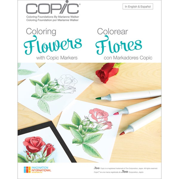 Shop Copic Bookscoloring Flowers Free Shipping On Orders
