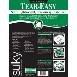 TearEasy Stabilizer20inX3yd