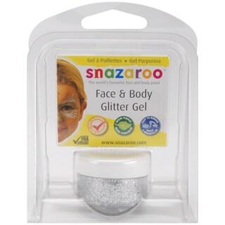 Snazaroo Face & Body Glitter Gel 12mlSilver