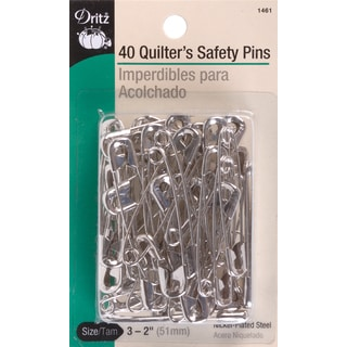 Quilter's Safety PinsSize 3 40/Pkg