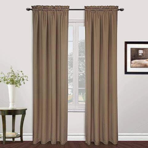 Luxury Collection Metro Light-Filtering Single Curtain Panel