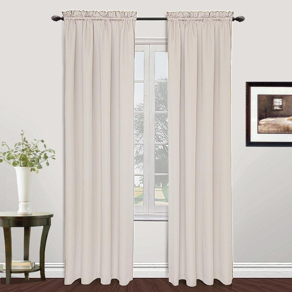Shop Luxury Collection Metro Light-Filtering Single Curtain Panel - 10570441