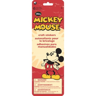 SandyLion Disney Stickers 6/PkgMickey