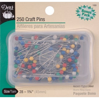Craft PinsSize 28 250/Pkg