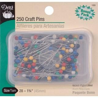 Craft PinsSize 28 250/Pkg