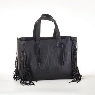 Fringed Design Tote Bag