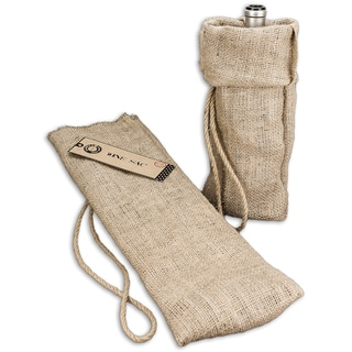 Burlap Wine Sack 6.5inX16in Natural