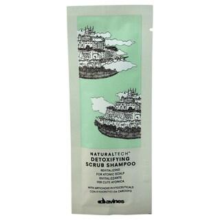 Davines Naturaltech Detoxifying Scrub Shampoo Sachet Kit