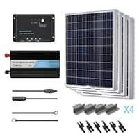 Renogy Solar Starter Kit 400w Monocrystalline 12v W 4
