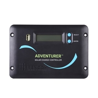 The Renogy Adventurer 30A PWM Flush Mount Charge Controller with LCD Display