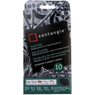 Zentangle Tool Set 10pcBlack Tiles