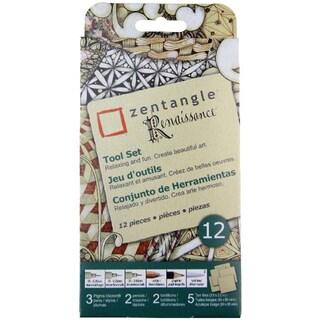 Zentangle Renaissance Tool Set 12pcTan Tiles