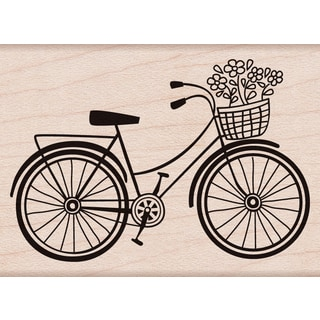 Hero Arts Mounted Rubber Stamps 2inX2.75inBicycle