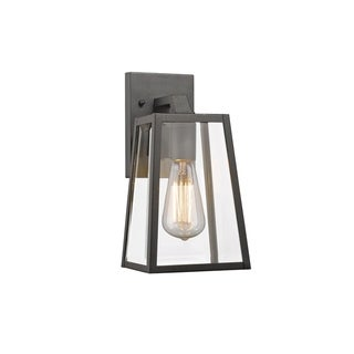 Link to Chloe Transitional 1-light Black Outdoor Wall Lantern Similar Items in Outdoor Wall Lights