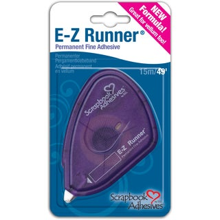 Scrapbook Adhesives EZ Runner Fine AdhesivePermanent, .375inX49'