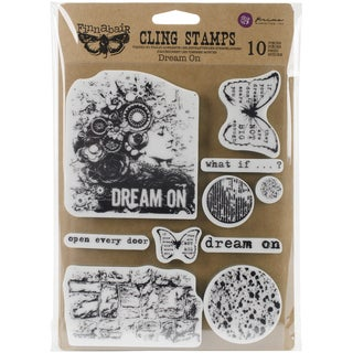 Finnabair Cling Stamps 6inX7.5inDream On
