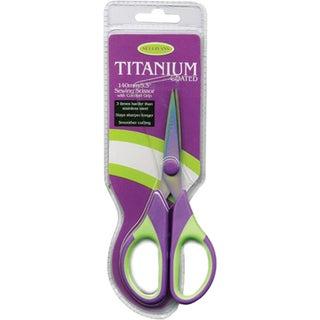 Titanium Sewing Scissors 5.5inPurple/Green