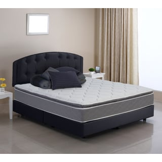 Wolf Pure and Simple Queen-size Pillow Top Foam Encased Innerspring Mattress