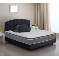 Wolf Pure and Simple Queen-size Pillow Top Wrapped Coil Innerspring Mattress