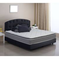 Wolf Pure and Simple Full-size Pillow Top Wrapped Coil Innerspring Mattress