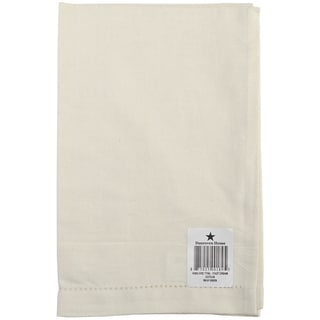 Cotton/Linen Blend Hand Towel 17inX27inCream