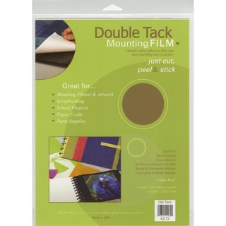 Double Tack Mounting film 9inX12in 3/Pkg