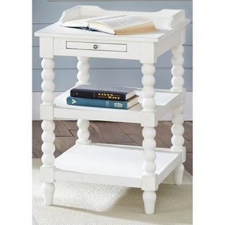 Harbor View Linen Chair Side Table